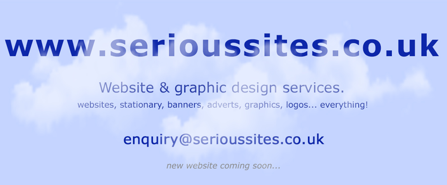 Serious Sites - Great Yarmouth website design.